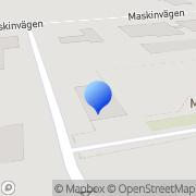 Karta Mellanskånes Renhållnings AB Eslöv, Sverige