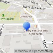 Karta Hpl Administrations Service Dalby, Sverige