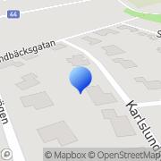 Karta Blomstrand Djurtransport Götene, Sverige