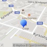 Karta Coop Konsum Veberöd, Sverige