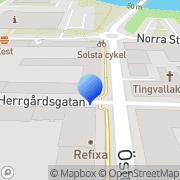 Karta GEAB Grävskopans Entreprenad i Värmland AB Karlstad, Sverige
