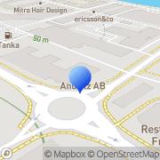 Karta GL&V Sweden AB Karlstad, Sverige