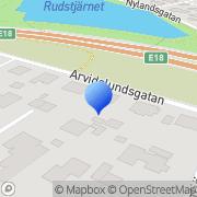 Karta Intelligent Business Connection Sweden AB Karlstad, Sverige