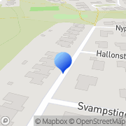 Karta Akitacentrum Karlstad, Sverige
