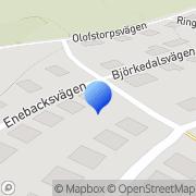 Karta Cillas Syatelje Axvall, Sverige