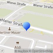 Karte Gergen und Kasper Immobilienmakler Dresden, Deutschland
