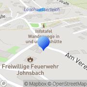 Karte Agrargenossenschaft Johnsbach eG Johnsbach, Deutschland