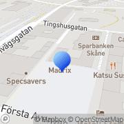 Karta Cigarrmagasinet Torget i Hässleholm AB Hässleholm, Sverige
