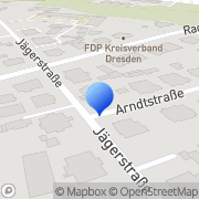 Karte Dobers, Klaus Frank Dresden, Deutschland