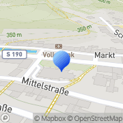 Karte Medizinische Fußpflege Mörl Glashütte, Deutschland