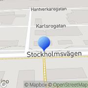 Karta Lottas Resanderum Mariestad, Sverige