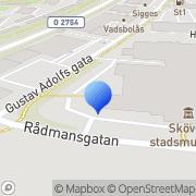 Karta Specialpedagogiska Skolmyndigheten, Konsulentkontor Skövde, Sverige