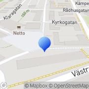 Karta Elektrohuset Tidaholm, Sverige