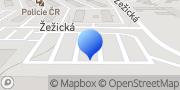 Map OBI Příbram Příbram, Czech Republic