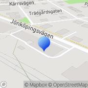 Karta Habotronic AB Habo, Sverige