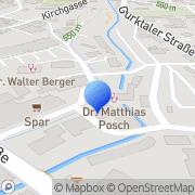 Karte LernQuadrat Nachhilfe Feldkirchen Feldkirchen in Kärnten, Österreich