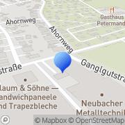 Karte Gattinger Traun, Österreich