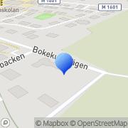 Karta Englund Management & Healthcare Consulting Kivik, Sverige