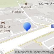 Karte Aveg Linz-Leonding - Porsche Inter Auto Leonding, Österreich