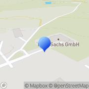 """Karte """"HANS SACHS"""" KÖNNEN RUND UM DEN FUSS GmbH Hoyerswerda, Deutschland"""