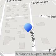 Karta Fastighetsservice i Kristianstad AB Åhus, Sverige