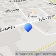 Karta NBE Sweden AB Sveg, Sverige