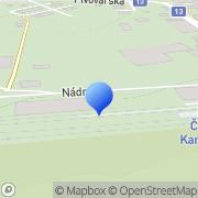 Map Uhelné Sklady - Soukal Jaroslav Česká Kamenice, Czech Republic