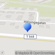Karta Inventech Electronic Degerfors, Sverige