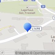 Karte WKS Installations Freistadt, Österreich