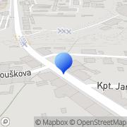 Map Sklenářství - Matouš Radek České Budějovice, Czech Republic