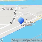 Karte EHG Ennshafen Enns, Österreich