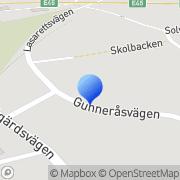 Karta Göran Norrgårds AB Mora, Sverige