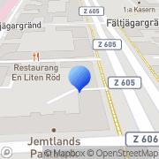 Karta Hoffners Data Östersund, Sverige