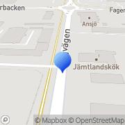 Karta Jannice Rydestål Östersund, Sverige