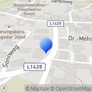 Karte Dr. Karl Maximilian Fischer Münzbach, Österreich