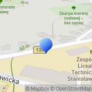Mapa Sikorski Z., Wieszczyk L. Automechanika Gubin, Polska