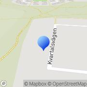 Karta Klas Eriksson Golf AB Växjö, Sverige
