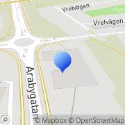 Karta G4S Security Services AB Växjö, Sverige