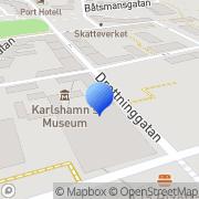 Karta Nyföretagarcentrum i Carlshamn Karlshamn, Sverige