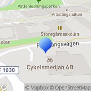 Karta Eksjö Bil & Bygg-Glas Eksjö, Sverige