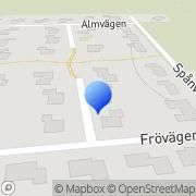 Karta Pelle Thulins Svets- & Montage Tingsryd, Sverige