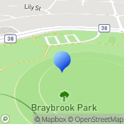 Map RESTAURANTS AND CAFE SHOP FITOUTS Braybrook, Australia