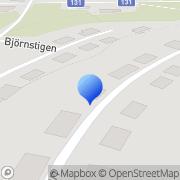 Karta I3AHCO Service, AB Basarp, Sverige