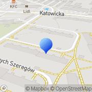 Mapa Design Press Żary, Polska