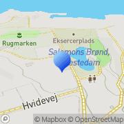 Kort Havnekontoret Gudhjem, Danmark