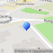 Karta Frökontrollen Mellansverige AB Örebro, Sverige
