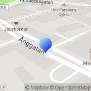 Karta Odd Consulting Örebro, Sverige