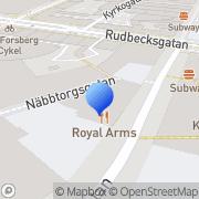 Karta Benny Frengen Förvaltnings AB Örebro, Sverige