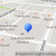 Karta Naturblomma Örebro, Sverige