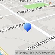 Karta MA Byggnads AB Lindesberg, Sverige